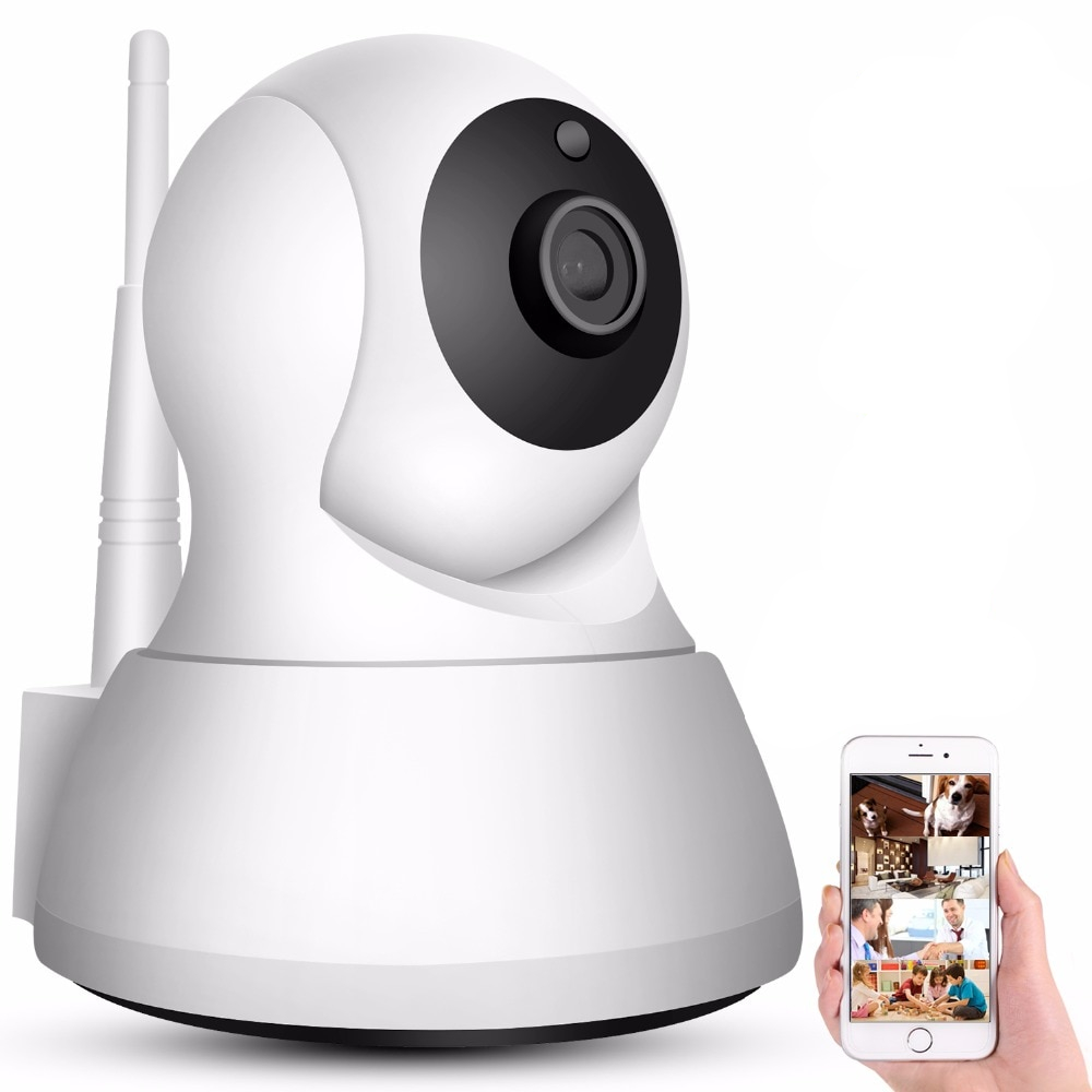 WiFi Home Security Camera with Night Vision