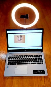 10″ Ring LED Light with Stand