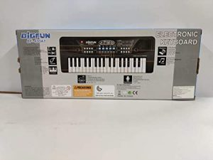 amisha gift gallery® 37 key bigfun piano keyboard toy for kids with mic dc power option recording charger not included best birthday gift for boys and girls 2019 latest model- Multi color Visit the Amisha Gift Gallery Store