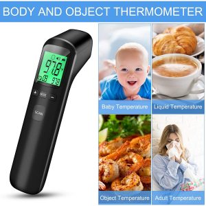 Forehead Thermometer, Digital Thermometer Infrared Touchless for Adult Baby and Kids Body Temperature Measurement in 1 Second Di