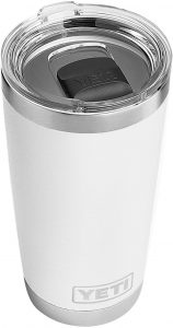 YETI Rambler 20 oz Tumbler, Stainless Steel, Vacuum Insulated with MagSlider Lid