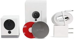 Wyze Cam v2 1080p HD Indoor WiFi Smart Home Camera with Night Vision, 2-Way Audio, Works with Alexa & the Google Assistant, Whit