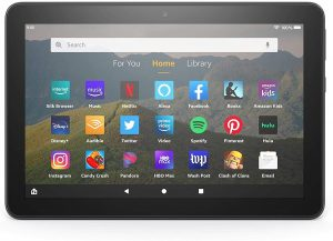 Fire HD 8 tablet, 8″ HD display, 32 GB, Black