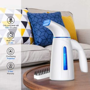 OGHom Steamer for Clothes Steamer, Handheld Clothing Steamer for Garment, 240ml Portable Mini Travel Fabric Steam Iron for Home