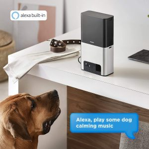 [New 2020] Petcube Bites 2 Wi-Fi Pet Camera with Treat Dispenser & Alexa Built-in, for Dogs and Cats. 1080p HD Video, 160° Full